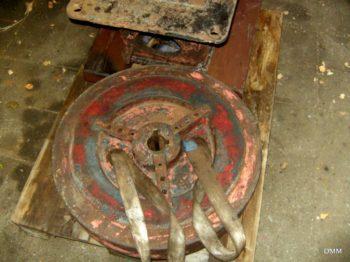 Genudgivelse: NORDAN råoliemotor 5 Hk Årg 1915 serie nr 8