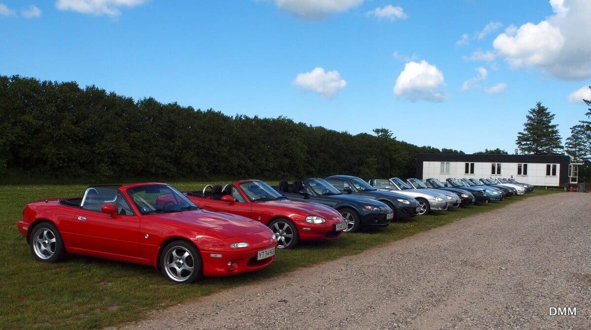 Mazda klubben på besøg